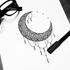 sketch moon u2026 pinteres u2026