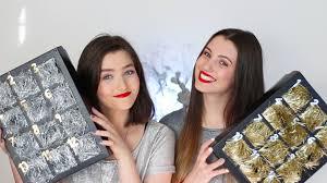 beauty advent calendar beauty advent calendar diy 2015
