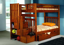 bunk bed with storage donco kids bunk beds with storage bunk beds