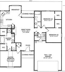 three bedroom two bath house plans 3 bedroom 2 bath floor plans houses home plans ideas