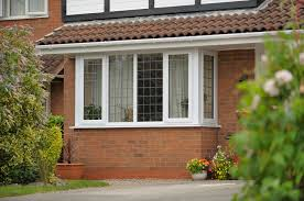 bay windows in gloucester at low prices get your free quote joedan upvc white bay window located in tewkesbury