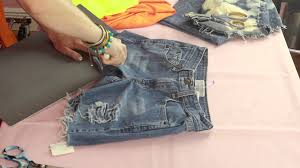 different ways to cut the ends of your hair how can i fray distress jean shorts myself style creations