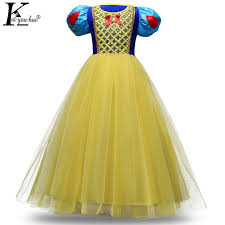2018 Snow White Princess Dress Kids Dresses For Girls Christmas