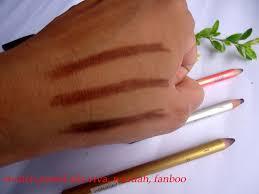 Pensil Alis Purbasari uli mayang review viva wardah dan fanbo pensil alis coklat eye
