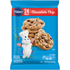 pillsbury ready to bake refrigerated cookies chocolate chip with