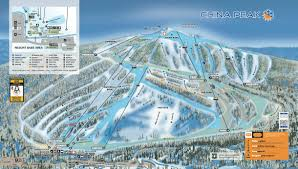 Big Sky Montana Trail Map by China Peak California Ski North America U0027s Top 100 Resorts Project