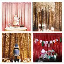 wedding backdrop ebay shimmer sequin restaurant curtain wedding backdrop party