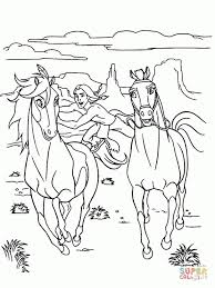 spirit stallion of the cimarron coloring pages free coloring pages