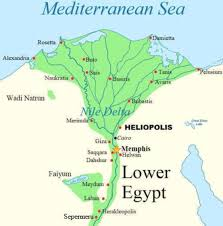 Nile River On Map Egyptians By Heather Bratrud