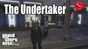 gta online costumes the undertaker wwe best youtube