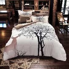 Winter Duvet King Size Luxury Jacquard Silk Bedclothes Set Silver Bedding Sets Double