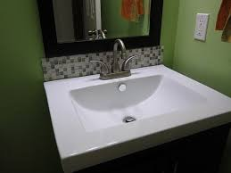 bathroom sink backsplash ideas excellent ideas bathroom sinks with backsplash bathroom sink
