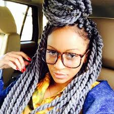 grey marley braiding hair love the cowrie shells and glasses too braids box my favorite 3