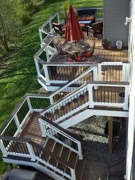 Backyard Decking Ideas by 40 Best Deck Ideas Images On Pinterest Backyard Decks Deck