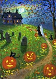 happy halloween scary disney ghosts pumpkins wallpaper witch moon flying window happy halloween animations animation