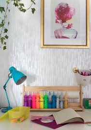 pearlescent stripe feature wall projects diane hill hand