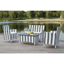 safavieh figueroa 4 piece patio seating set with off white