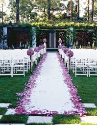 outdoor wedding reception venues garden wedding ideas gardening design