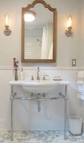 Restoration Hardware Sink Bathroom Traditional With Double Sinks - Bathroom vanities with tops restoration hardware
