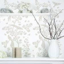 wallpaper with birds chinoiserie chic stencil chinoiserie wall mural stencils by