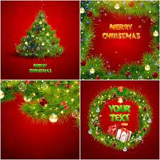 beautiful christmas vector backgrounds free stock vector art