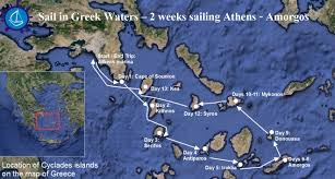 Greece Islands Map by Wedding In Amorgos Island