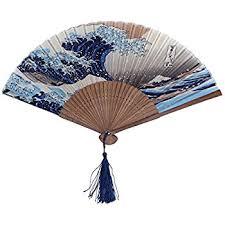 japanese folding fan dawningview japanese handheld folding fan with