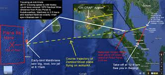 Diego Garcia Map Written By Another Pilot A Logical Explanation For The Mh370