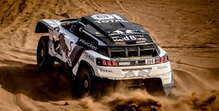 peugeot dakar 2016 the peugeot 3008 dkr claims first stage win peugeot sport