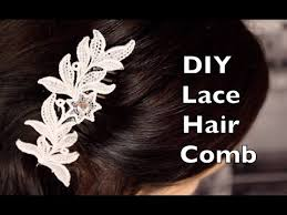 lace accessories how to make lace hair accessories