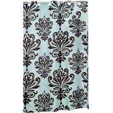 Turquoise And Grey Shower Curtain Brown Shower Curtains You U0027ll Love Wayfair