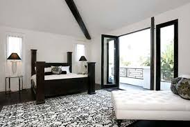 black white sideboard interior design ideas in the bedroom wall