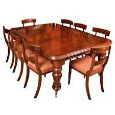 Mahogany Dining Room Table And 8 Chairs Antique William Iv Mahogany Dining Table 8 Chairs C 1830 At 1stdibs