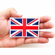 Englands Flag Best Uk England Flag Patches For Clothes Embroidered Iron Sew