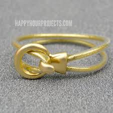 diy gold bracelet images Diy gold glitter looped bracelet happy hour projects jpg