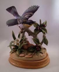 2 bird figurines parula warbler by andrea andrea pinterest ebay