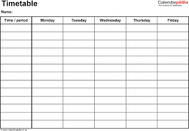 weekly schedule template aplg planetariums org time management yxv