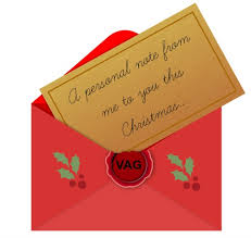 have you sent your christmas cards the va geek
