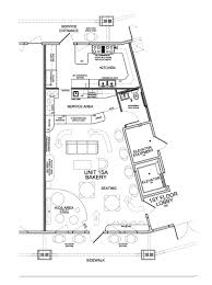 Free Sample Floor Plans Coffee Shop Design Plans Floor Plan House