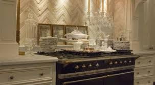 limestone kitchen backsplash herringbone backsplash kitchen de depoitiers