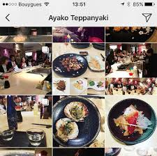 restaurant japonais chef cuisine devant vous ayako teppanyaki menu prices restaurant reviews