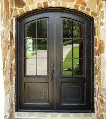 fatezzi faux wood garage doors love this classic wrought iron door outdoor spaces pinterest