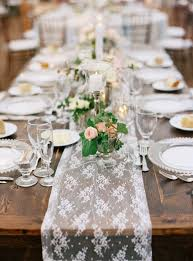 lace table runners wedding traditional elegant wedding in darien lace table runners lace