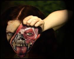 scary face wallpaper wallpapersafari