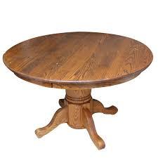 round oak kitchen table walter of wabash round oak dining table ebth