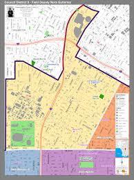 Los Angeles City Council District Map by Maps Councilman Curren D Price Jr