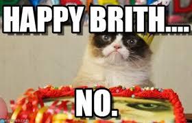 Grumpy Cat Birthday Memes - happy brith grumpy cat birthday meme on memegen