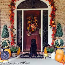 Front Porch Fall Decorating Ideas - outdoor fall decorating ideas for your front porch and beyond