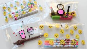 diy supplies pencil case diy makeup bag starbucks