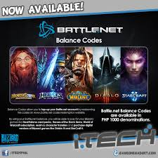 battlenet prepaid card load up your favorite blizzard i tech philippines
